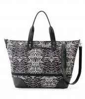 How Does She Do It tote - Zebra