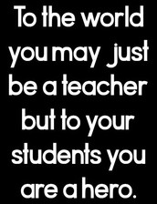 TEACHER APPRECIATION WEEK!!