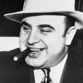 "Al ""Scarface"" Capone. Al Capone was perhaps the most notorious gangster in history. He was born in Williamsburg, Brooklyn on January 17, 1899. His parents were itailian immigrants."