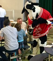 The Chick-Fil-A Cow visits Maple Dale!
