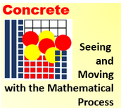 "Concrete Stage: ""Seeing"" and ""Touching"" Math Process"