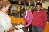 Proud Intention Letter Signing at STEM Celebration Night!