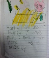 """I loved Harry the Dirty Dog because..."
