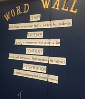 Word Walls with Academic Language Support Student Learning