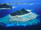 Volcanic Island of Fiji