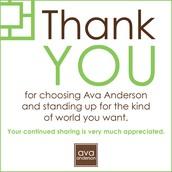 Ava Anderson Non Toxic is having a Birthday!