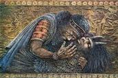 The death of Enkidu