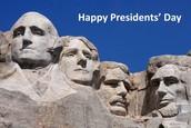 Happy Presidents' Day ~ February 15th