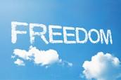 I believe in freedom