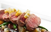 Roast beef & potatoes