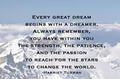 What are my dreams in life, my passions?
