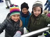 1st Graders Ice Skating Field Trip
