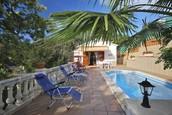 Villa renting in San Cebria