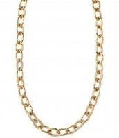 Christina Link Necklace - Gold