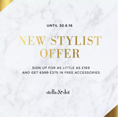 Sign-Up Special for New Stylists