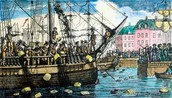 The Boston Tea Party 1773