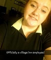 Newest Village Inn Employee!!