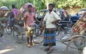 Men wearing Lungi.