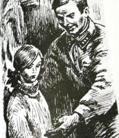 Таня и отец