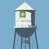 Hayward Water Tower Adopt-A-Block