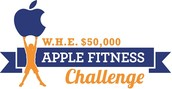 Apple Fitness Challenge, May 22