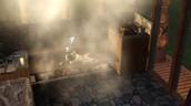 Dog sauna