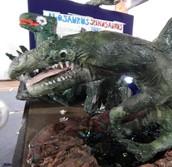 El fantástico Dinosaur Museum!