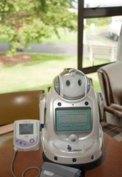 Modern medicine is improving through the use of Health-care robots.