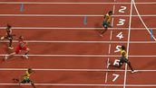 200 meter dash