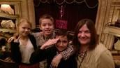 Mrs. Martinczak and a few of her peeps!