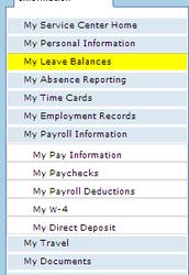 Leave Balances
