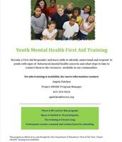 Youth Mental Health Training
