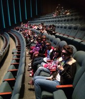 Our 4th grade Panthers enjoying an educational field trip to the Bob Bullock Museum!