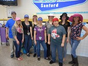 Hat Day--lot of funs with the Gear Up and Get Ready Week celebrations