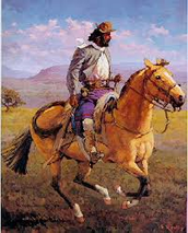 How did Gauchos become the national symbol?