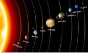This picture is of our solar system