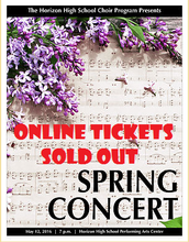 Online tickets have sold out!