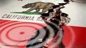 Earthquake at California