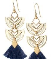 Aida Tassel Chandeliers (4 ways to wear)