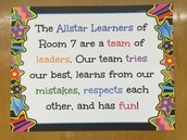 Check out our class mission!