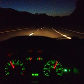 DRIVE SAFELY AS IT GETS DARKER