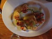 Delicious dinner I had in Dingle, Ireland