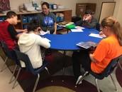 Mrs. Conrad's Students at Work!