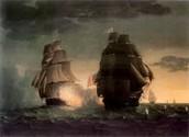 Ship fight.