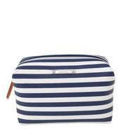 Navy Stripe Pouf $12 ~SOLD