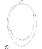 Alexia Layering Necklace - Silver