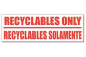 Recyclables Solamente