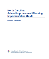 North Carolina School Improvement Planning