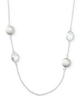 "Monterey Necklace, silver - 37"" long - SOLD!!!"