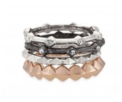Katelyn Stacked Rings - Size 9